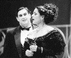 Marc Hervieux, who plays Alfredo Germont, and Gianna Corbisiero