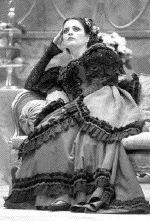 Gianna Corbisiero dans le rôle de Violetta